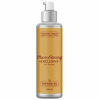 PheroStrong EXCLUSIVE for Women Massage Oil 100 ml